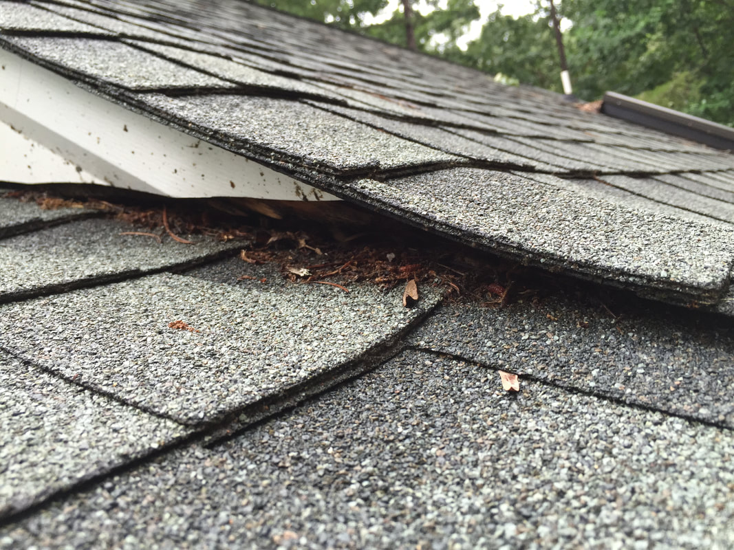 Defective Installation- Facia  Doesn't Meet the Roof Top Henrico Roofing VA